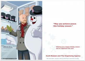 holiday card mailing
