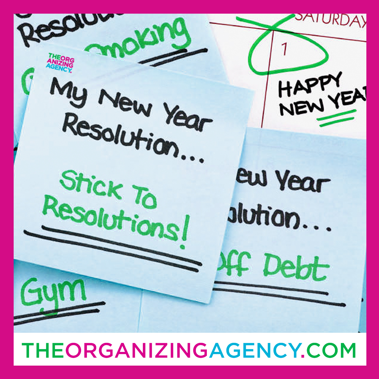 six strategies new year's resolutions